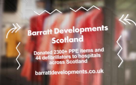 STV Local Lifeline - Barratt Developments Scotland