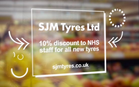 SJM Tyres Ltd - STV Local Lifeline